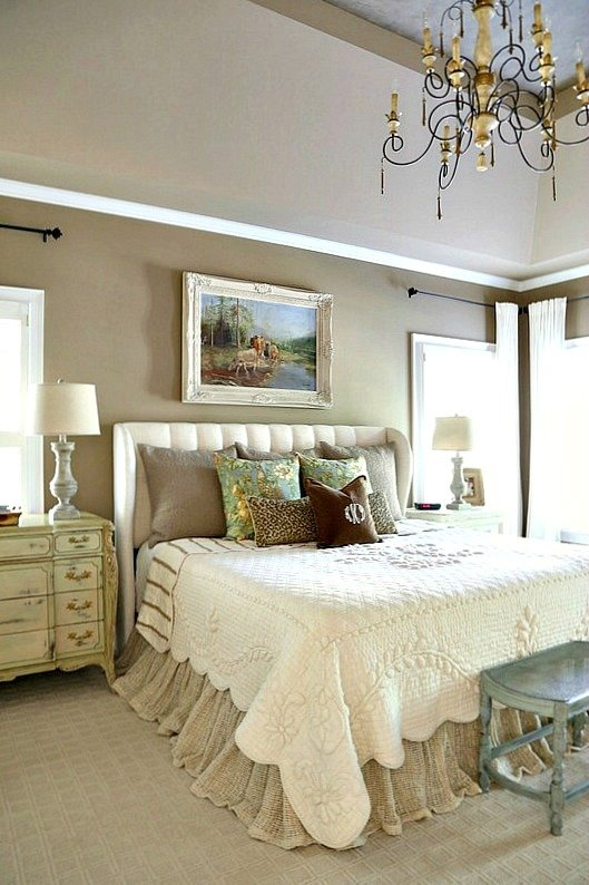 Best Savvy Southern Style French Country Master Bedroom Refresh With Pictures