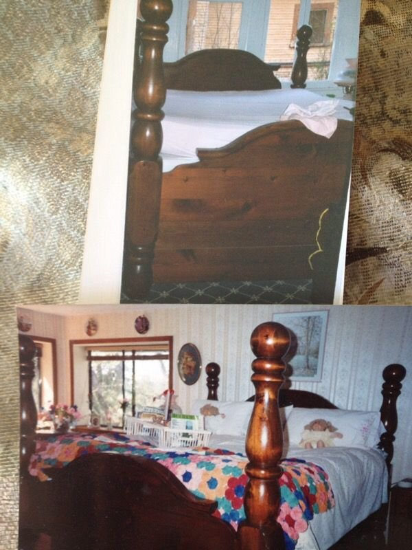 Best Paul Bunyan Solid Wood Bedroom Set Antiques In Solana With Pictures