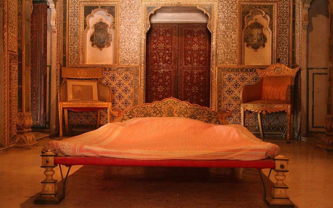 Best File Royal Bedroom At Chandra Mahal Junagarh Fort With Pictures
