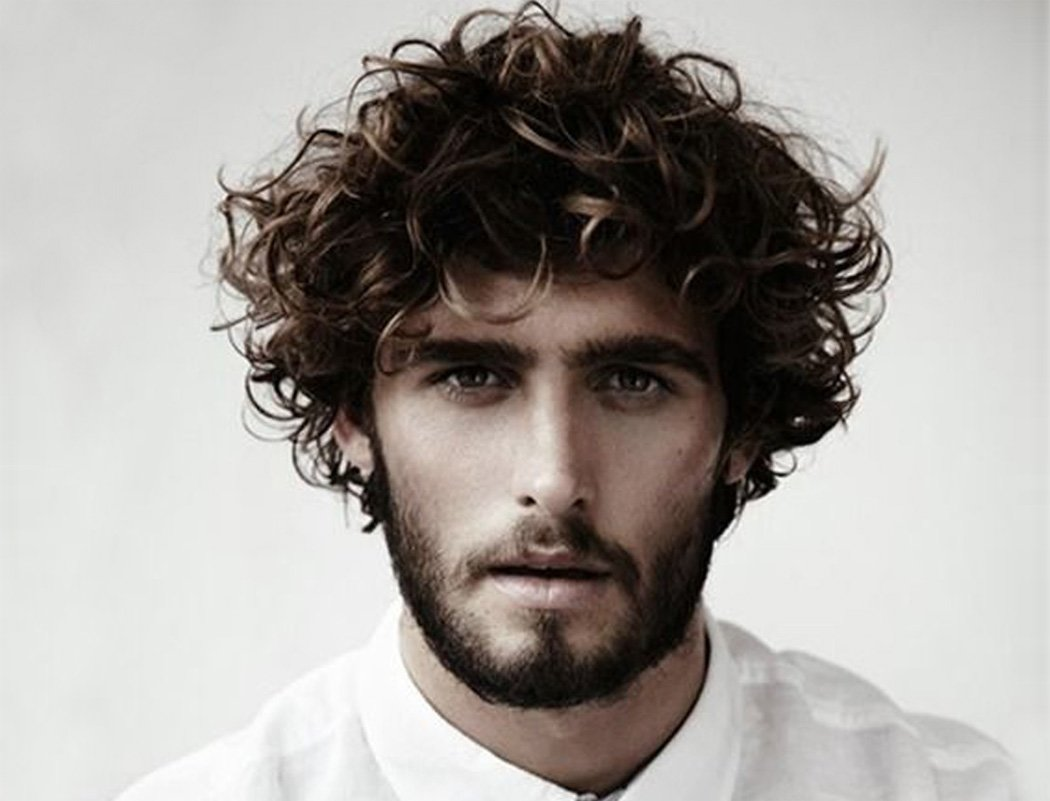 Free 55 Men S Curly Hairstyle Ideas Photos Inspirations Wallpaper