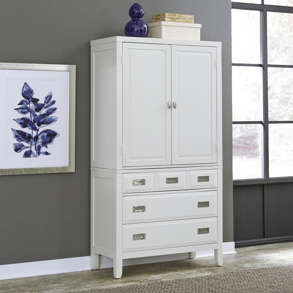 Best Armoires Wardrobes Bedroom Furniture The Home Depot With Pictures