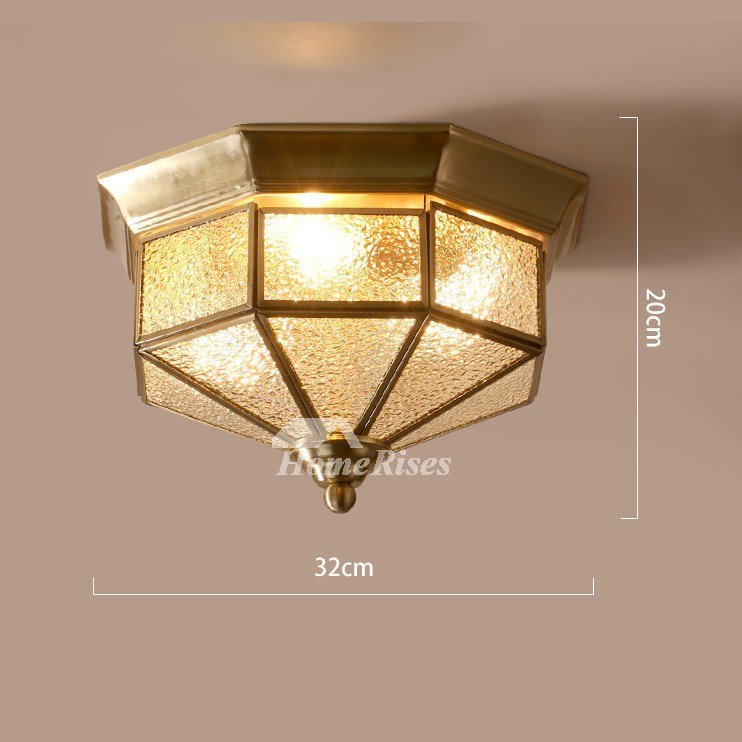Best Flush Mount Ceiling Light Glass Rustic Bedroom 3 Light With Pictures