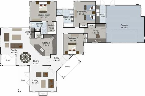 Best 3 Bedroom House Plans Nz Cromwell From Landmark Homes With Pictures