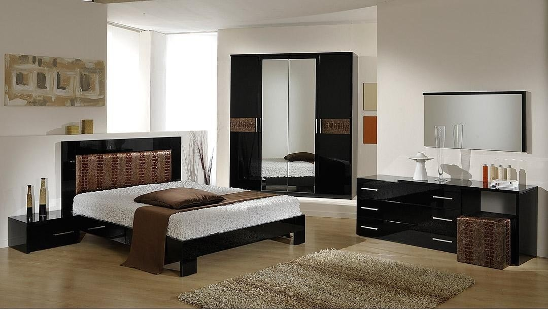 Best Vig Furniture Moon Italian Brown Modern Contemporary Queen With Pictures