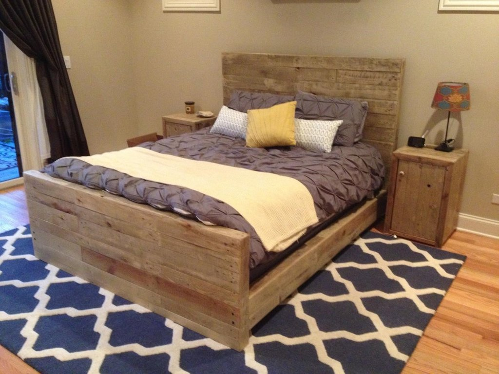 Best Reclaimed Wood Bedroom Furniture Contemporary – Loccie With Pictures