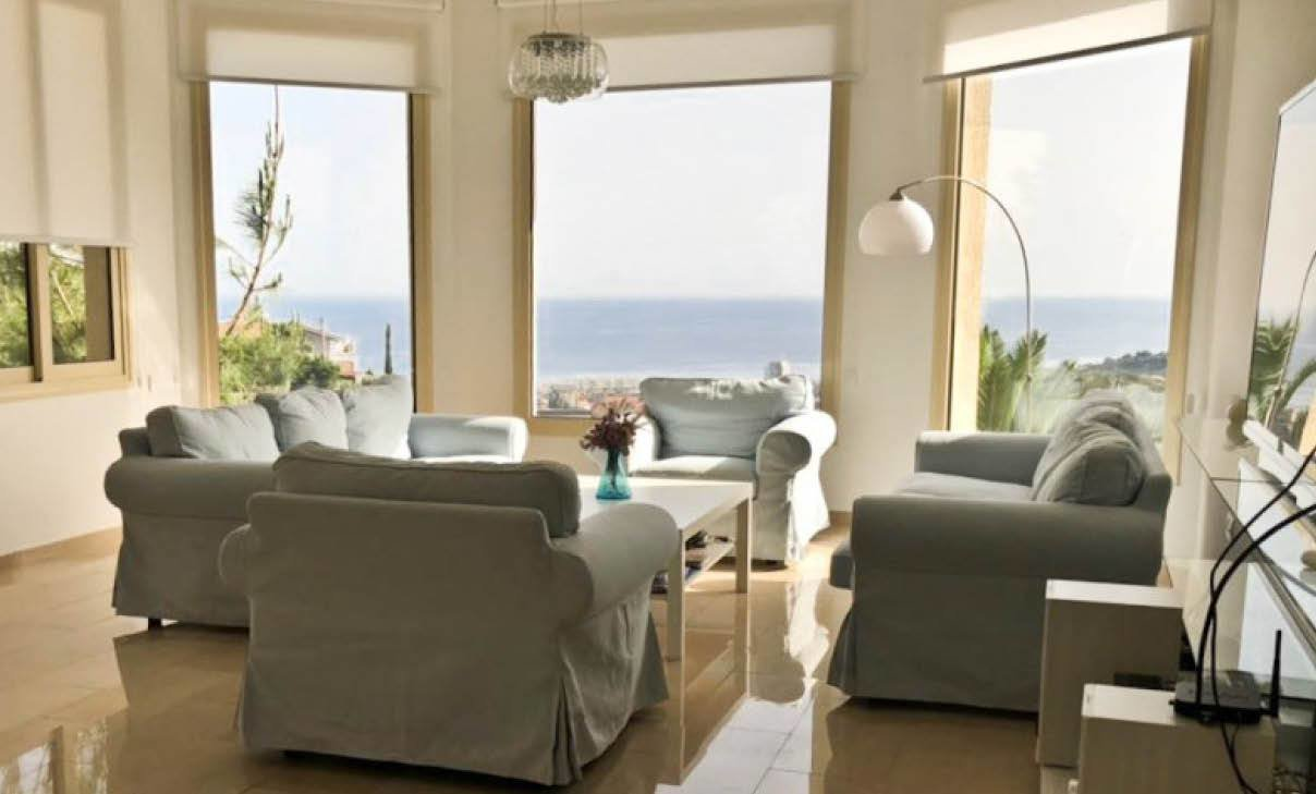 Best 5 Bedroom Sea View House For Rent In Ayios Tychonas Limassol With Pictures