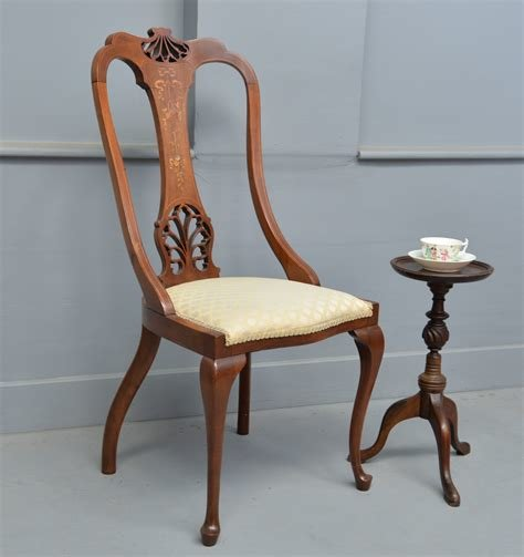 Best Very Pretty Edwardian Mahogany Desk Bedroom Chair With Pictures