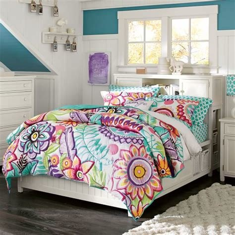 Best Beadboard Storage Bed Hutch Pbteen With Pictures