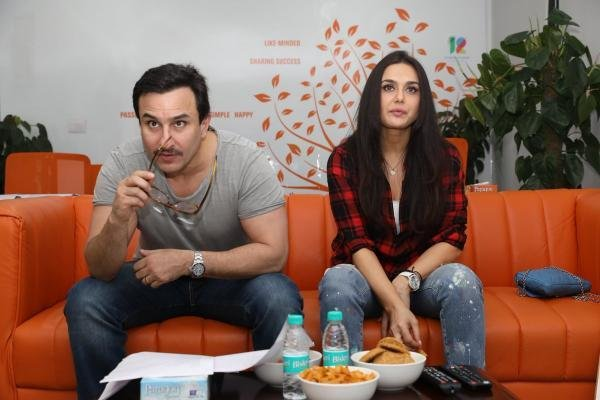 Best These Pics Of Preity Zinta And Saif Ali Khan In The Ipl With Pictures
