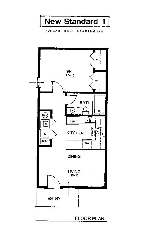 Best Apartment Rental Layout Spacious Living Oversized Closets With Pictures
