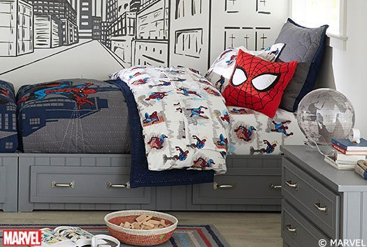 Best Spider Man™ Bedroom Pottery Barn Kids With Pictures