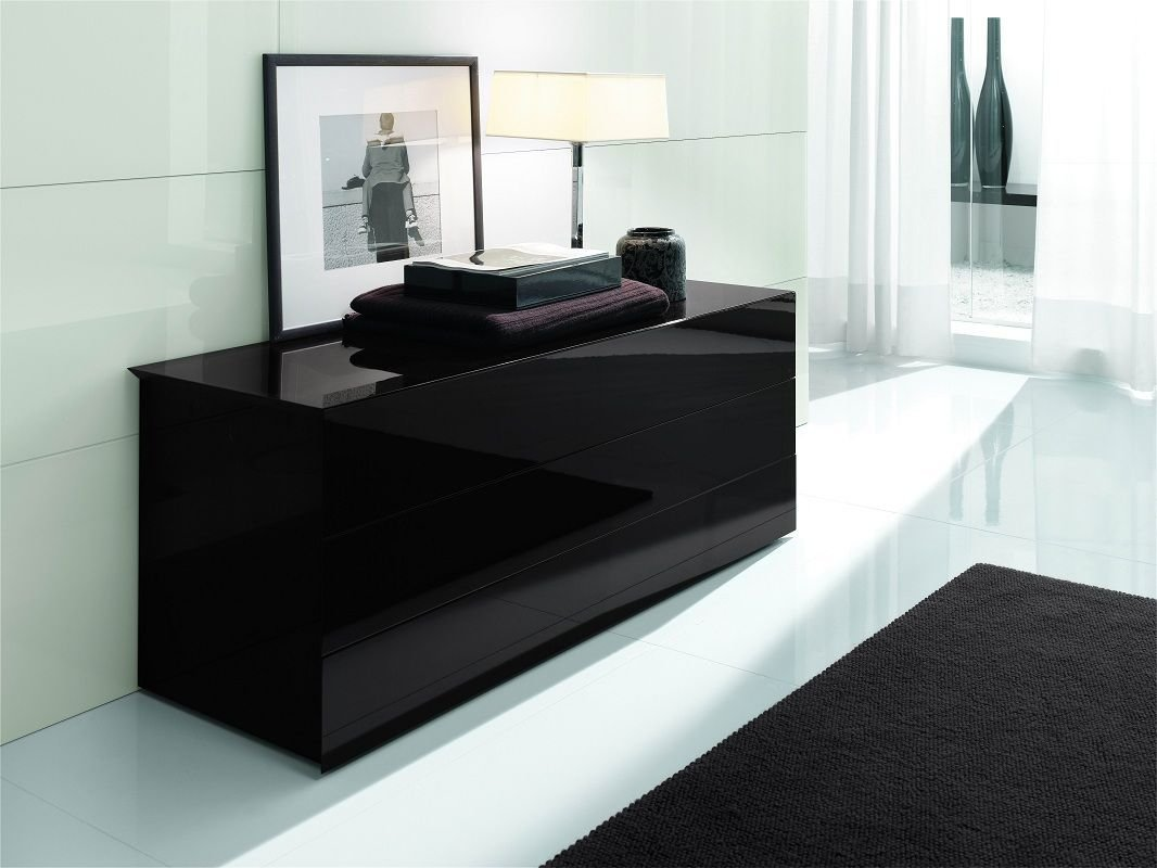 Best Made In Italy Leather Platform Bedroom Set With Extra With Pictures