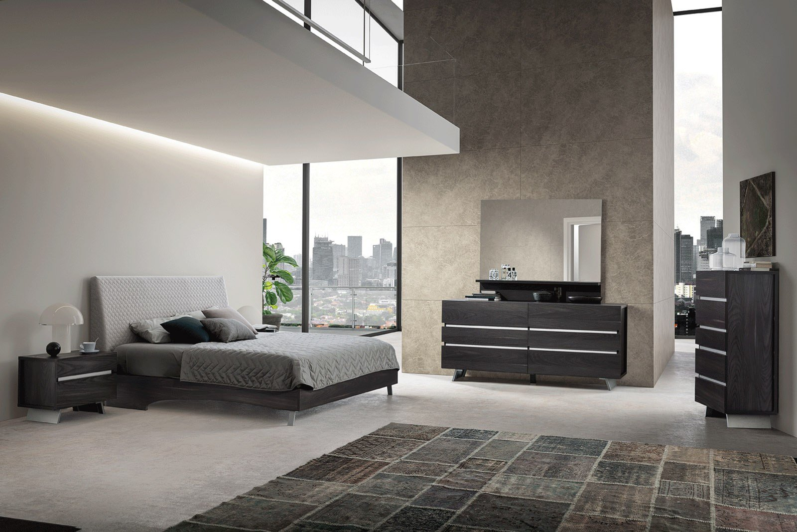 Best Made In Italy Wood Contemporary Bedroom Design Flint With Pictures