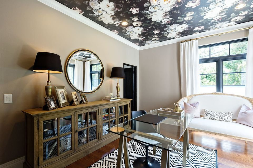 Best 29 Ceiling Wallpaper Ideas With Pictures
