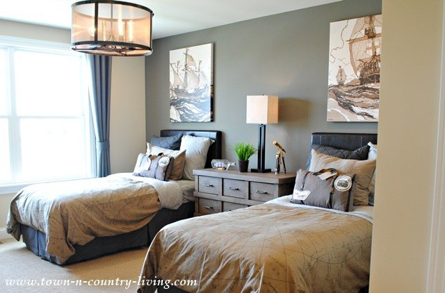 Best Industrial Chic Model Home Town Country Living With Pictures