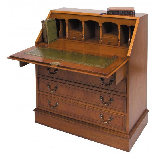 Best Bradley Yew 667 Bureau Tr Hayes Furniture Store Bath With Pictures