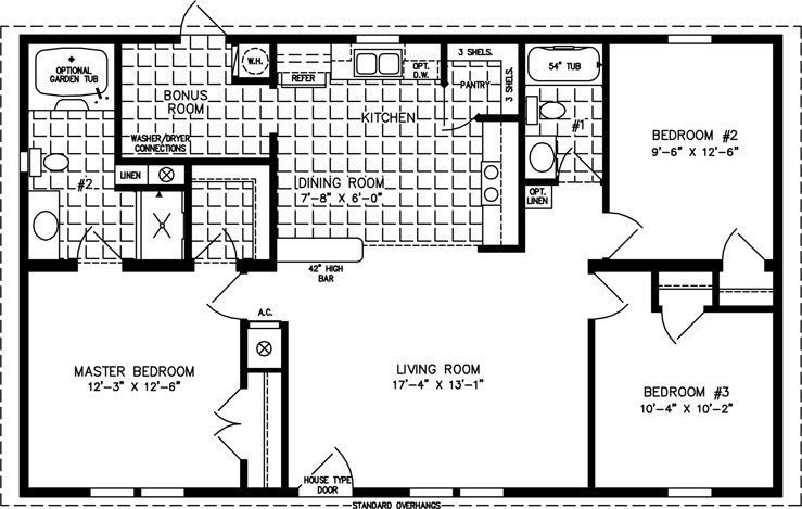 Best 1000 Square Foot 3 Bedroom House Plans Elegant 1000 To With Pictures