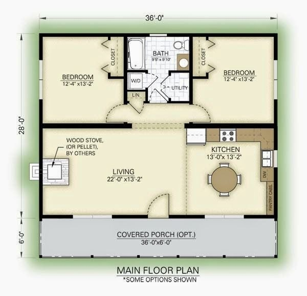 Best Lovely 2 Bedroom Guest House Floor Plans New Home Plans With Pictures