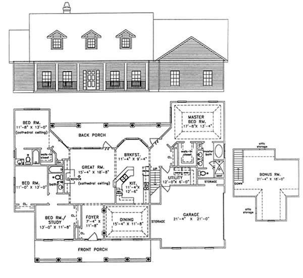 Best 4 Bedroom 3 Bath House Plans With Bonus Room Archives New Home Plans Design With Pictures