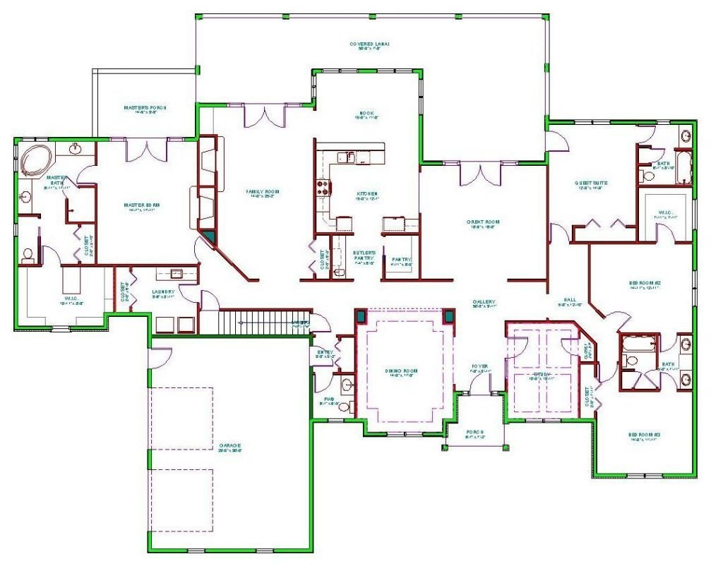 Best 6 Bedroom Ranch House Plans New 100 6 Bedroom House With Pictures