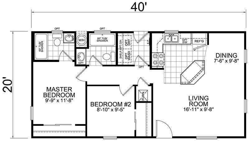 Best Awesome 800 Square Foot House Plans 3 Bedroom New Home With Pictures