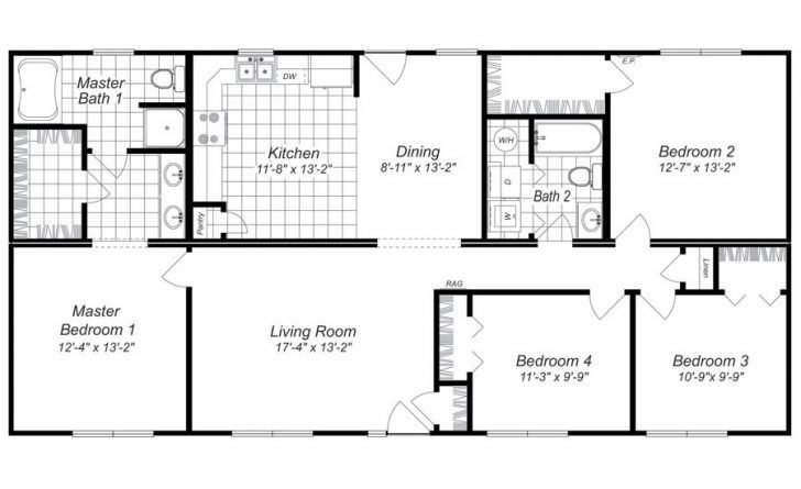Best Inspirational Best Floor Plan For 4 Bedroom House New With Pictures