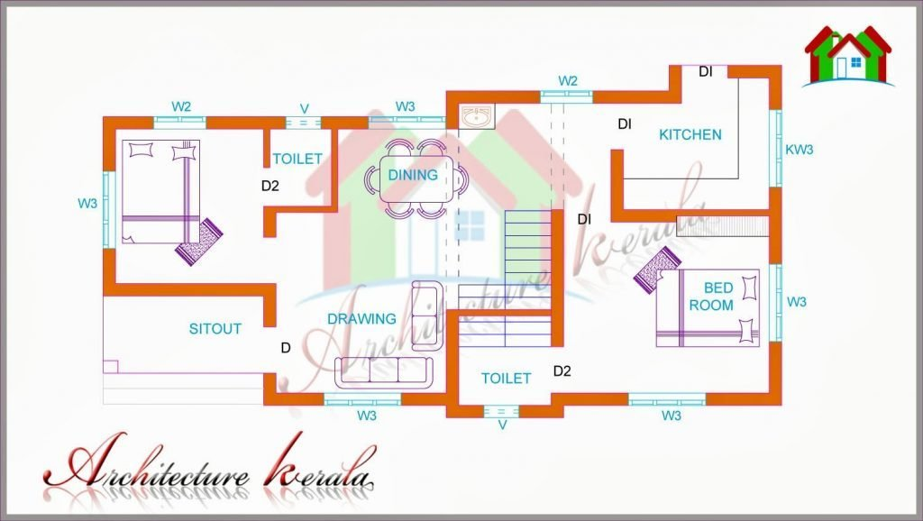 Best Luxury Kerala Two Bedroom House Plans New Home Plans Design With Pictures
