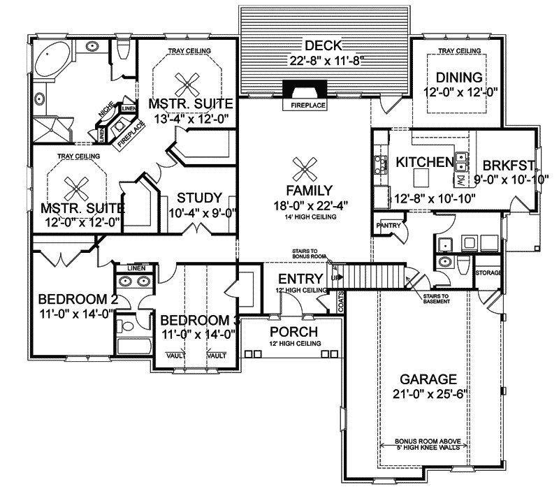 Best Inspirational Ranch House Plans With Bonus Room Above With Pictures