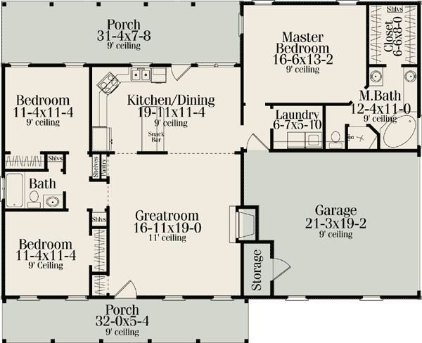 Best Ranch House Plans With Split Bedrooms Beautiful 274 Best Floor Plans Images On Pinterest New With Pictures