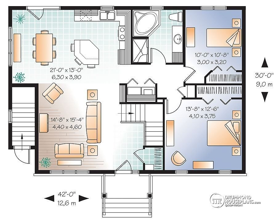 Best 2 Bedroom House Plans With Walkout Basement Lovely Basement Floor Plans With 2 Bedrooms Gorgeous With Pictures
