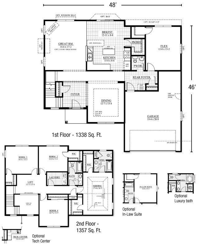 Best New Two Story House Plans With Master Bedroom On First Floor New Home Plans Design With Pictures