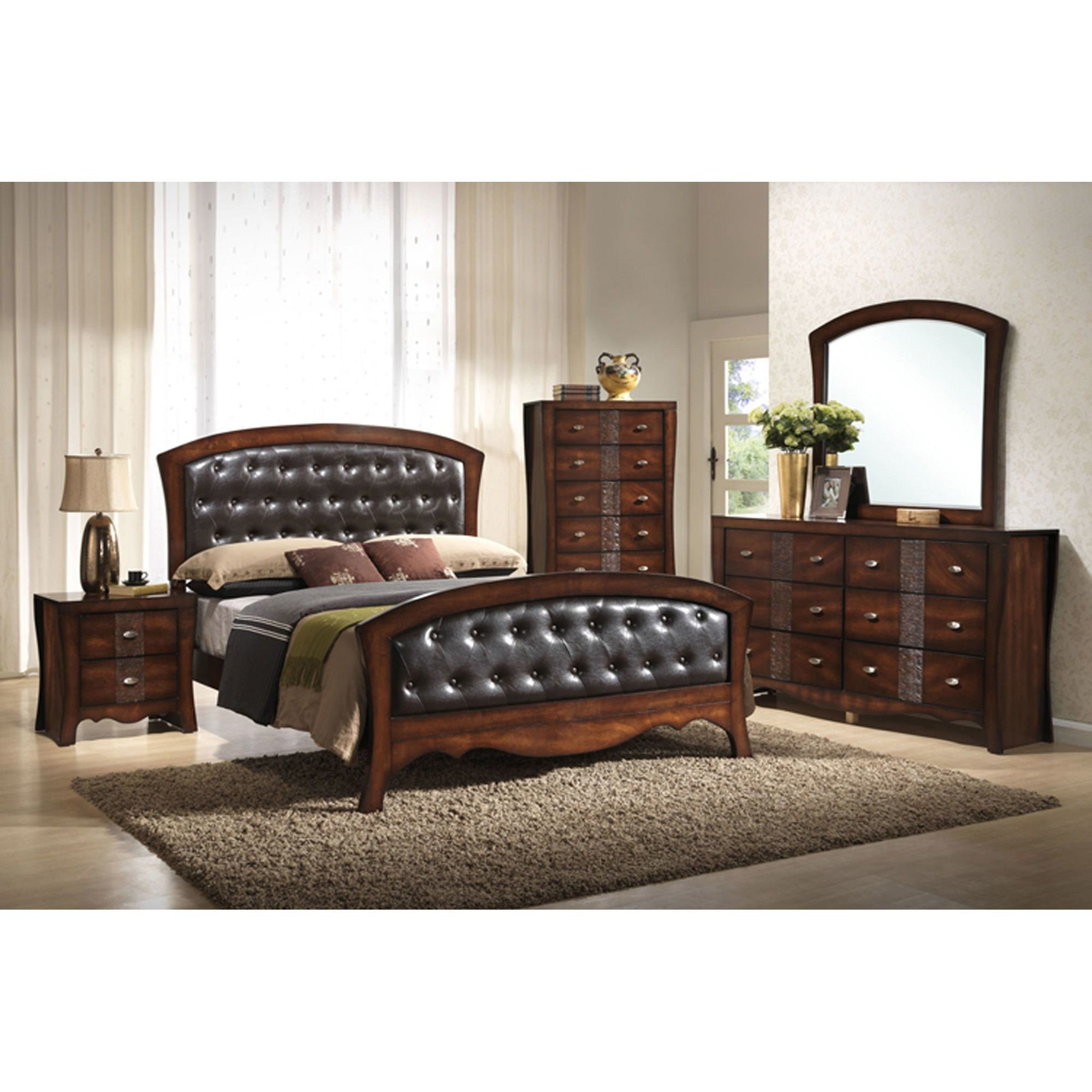Best Elements Bedroom Groups 7 Piece Jenny Queen Bedroom Collection With Pictures