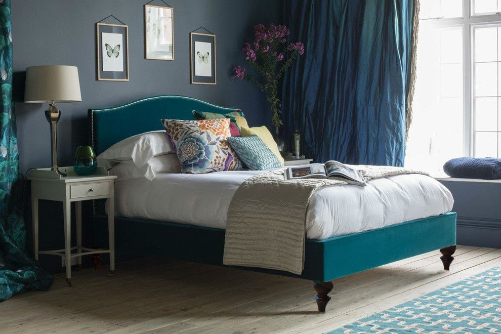 Best Richmond Bed With Contemporary Upholstery And So To Bed With Pictures