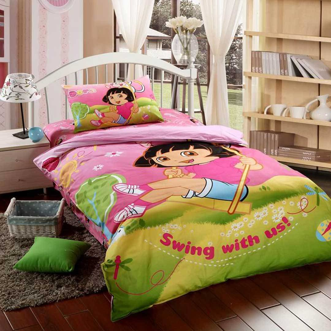 Best Dora Bedding Set Twin Size Ebeddingsets With Pictures