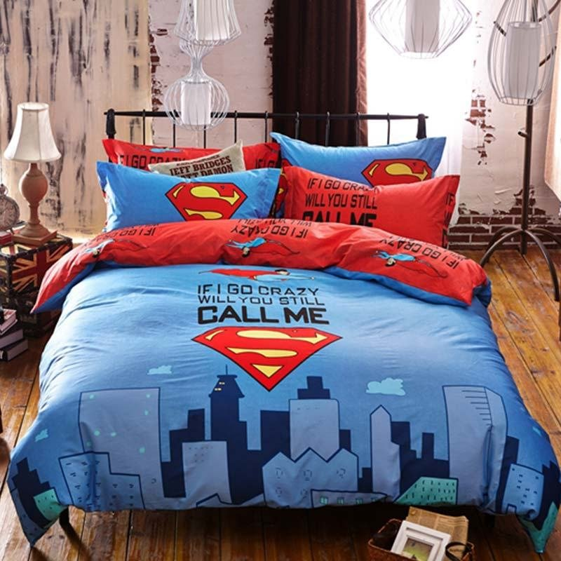 Best Superman Bedding Set Queen Size Ebeddingsets With Pictures