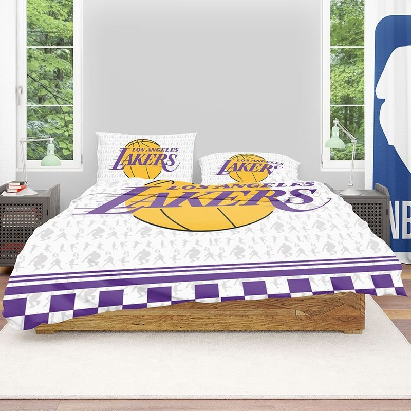 Best Buy Nba Los Angeles Lakers Bedding Comforter Set Up To 50 With Pictures