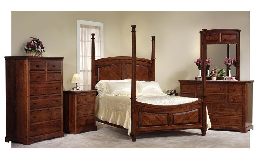Best Cherry Bedroom Furniture Handcrafted In America With Pictures