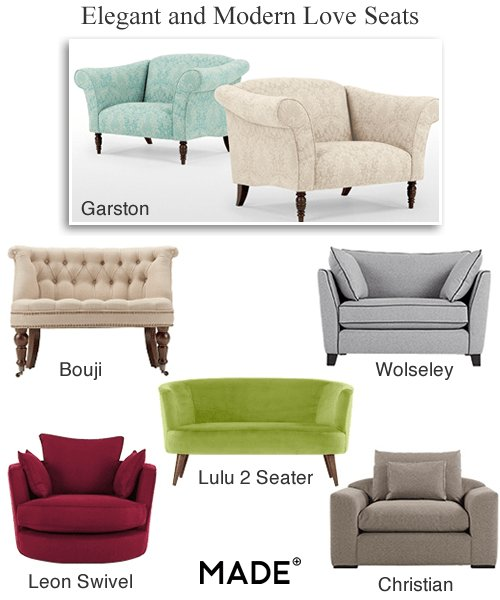 Best Modern Loveseats Small Fabric Love Seat Sofas Bedroom Chairs With Pictures