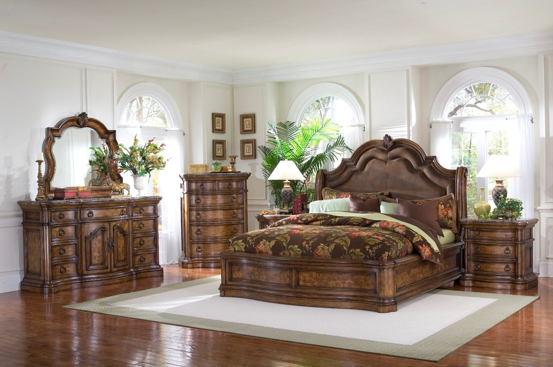 Best Pulaski Furniture San Mateo 4 Pc Sleigh Bedroom Set Usa With Pictures