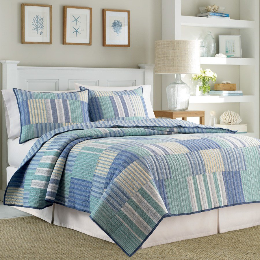 Best Nautica Belle Isle Quilt From Beddingstyle Com With Pictures