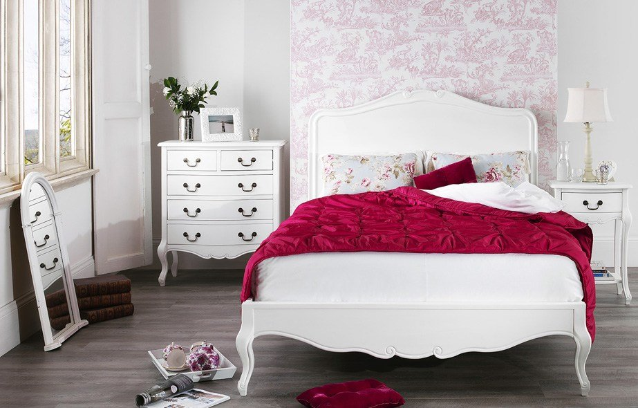 Best Juliette White Shabby Chic Bedroom Furniture With Pictures