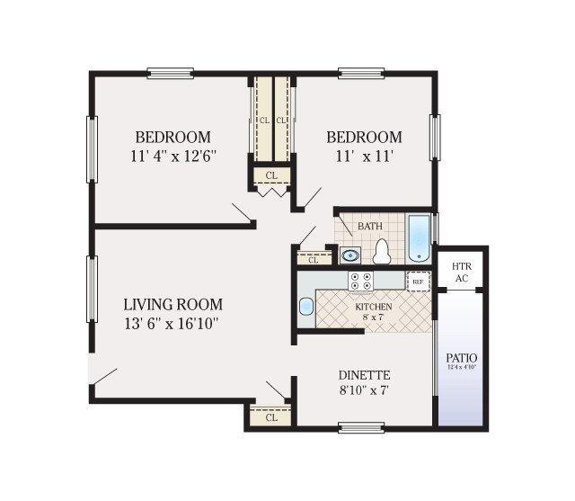 Best Floor Plans Brick Gardens Apartments For Rent In Brick Nj With Pictures