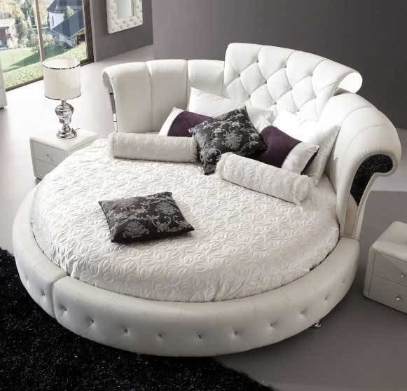 Best Large Round Bedroom Furniture Playing With Shapes With Pictures