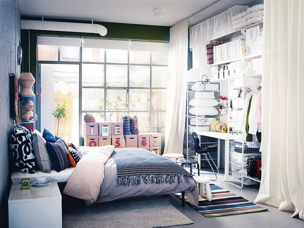 Best Creative Storage Ideas For Small Bedrooms With No Closet With Pictures