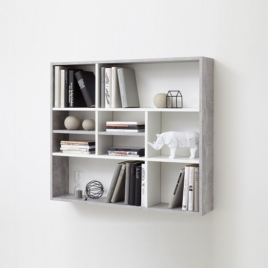 Best Andreas Wall Mounted Shelving Unit In White And Light With Pictures