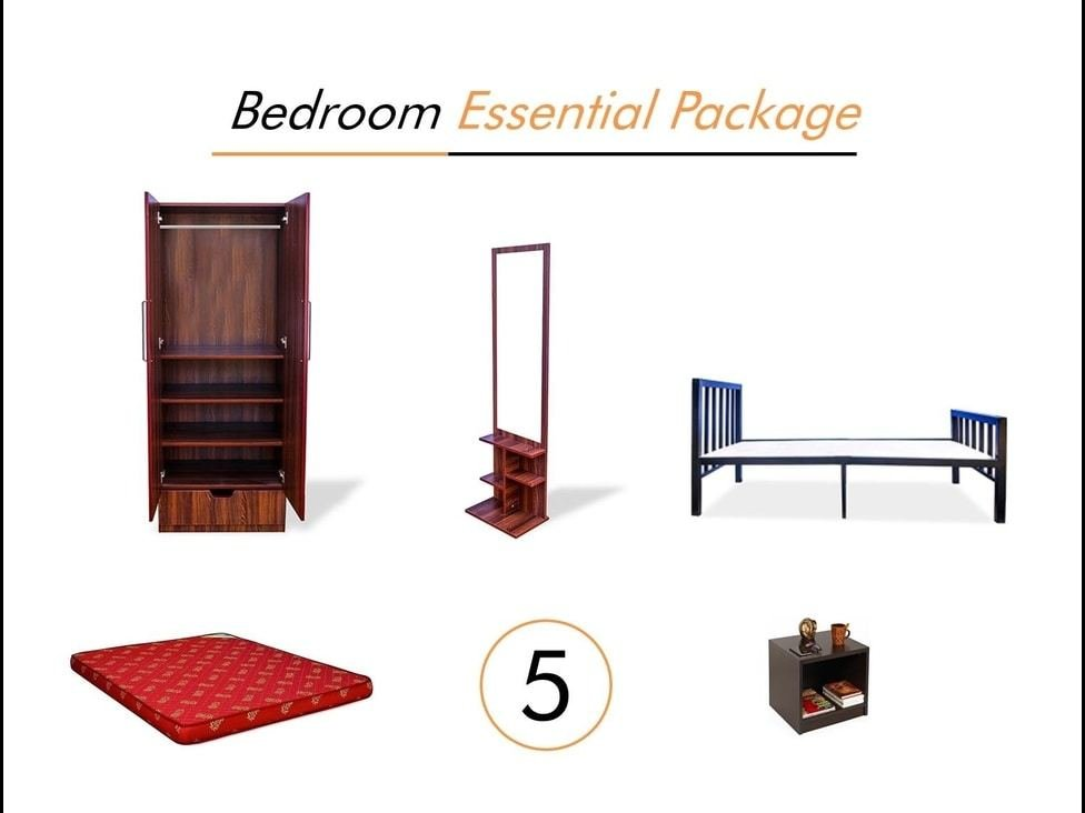 Best Bedroom Essential Awesome Appliances Furniture On Rent With Pictures