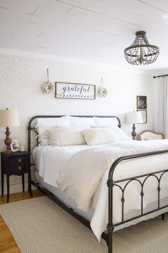 Best 21 Rustic Farmhouse Bedroom Decor Inspiration Ideas Renewed Claimed Path With Pictures