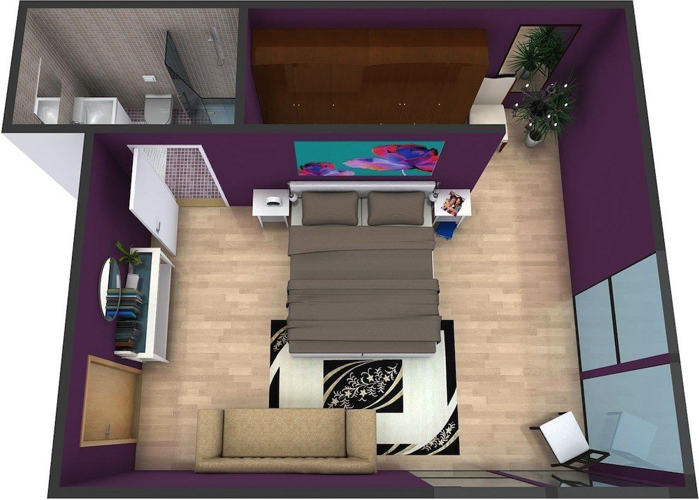 Best Master Bedroom Plans Roomsketcher With Pictures
