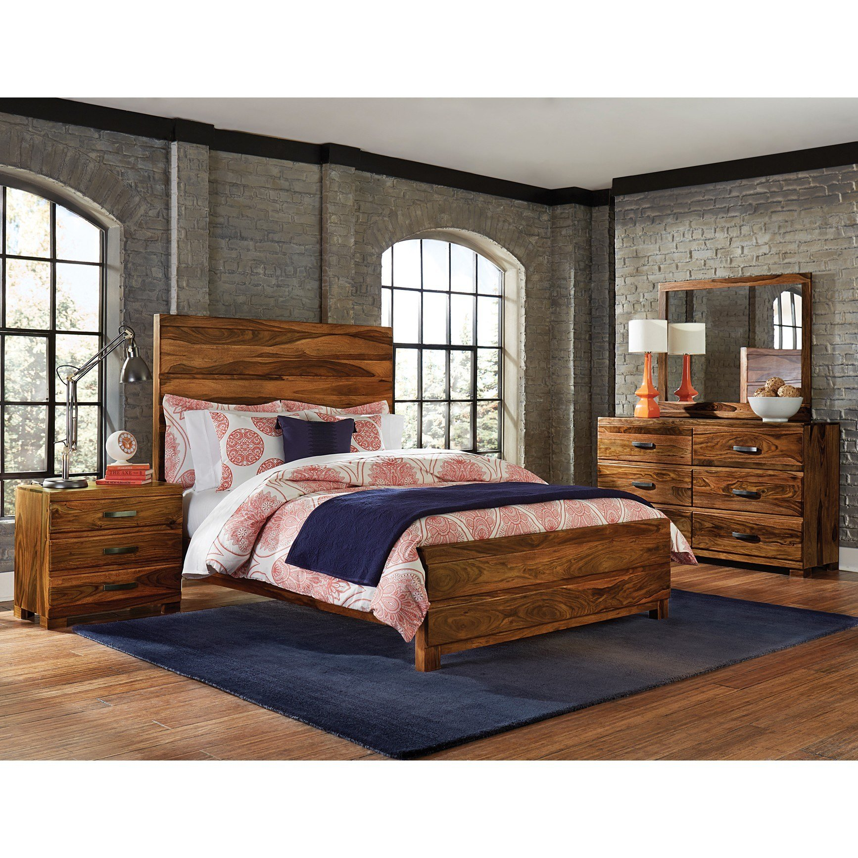 Best Hillsdale Furniture Madera 4 Piece Storage Bedroom Set Hd With Pictures