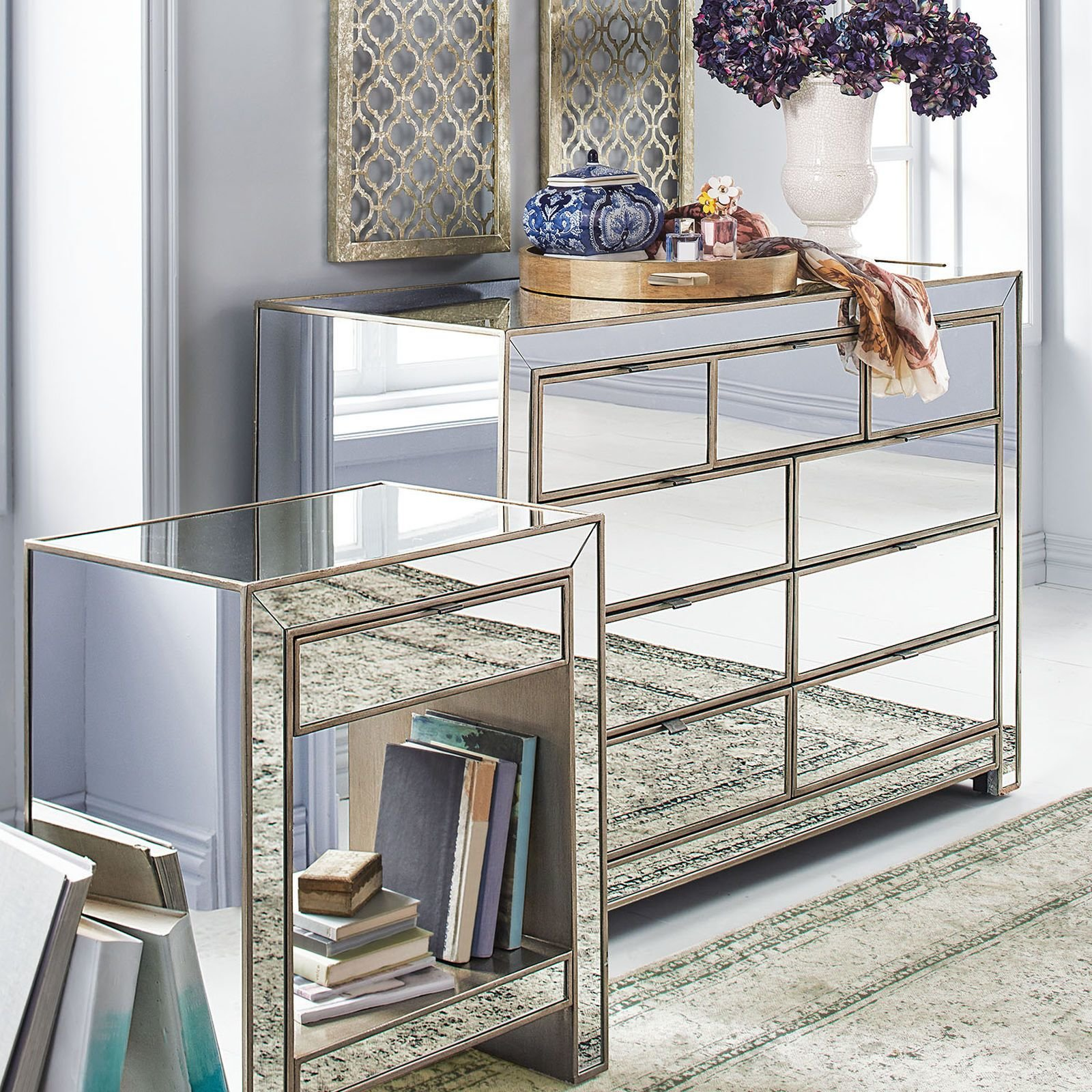 Best How To Decorate Mirrored Dresser — All Home Design Ideas With Pictures